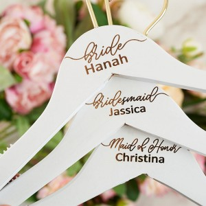 Personalized Wood Bridesmaid Hanger