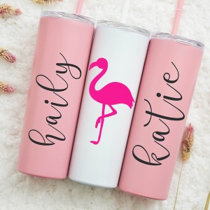 Cute Personalized Stainless 20oz Tumbler