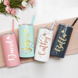 Bridesmaid Bachelorette Party Customized Tumbler