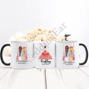 Customized Print Bridesmaids Coffee Mug