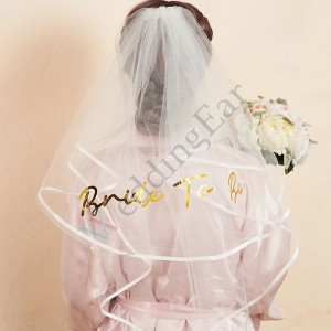 Personalized Bride Veil
