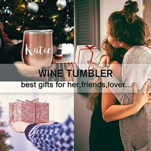 Personalized Bridesmaid Gift Wine Tumbler