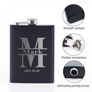 Personalized Best Man Black Gift Set UP-sell