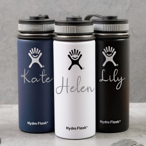 Personalized Monogrammed 32oz Hydro Flask Water Bottle