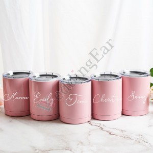 10oz Personalized Bridesmaid Sign Design Tumbler
