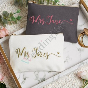 SALE! Personalized Monogram Makeup Cosmetic Bag