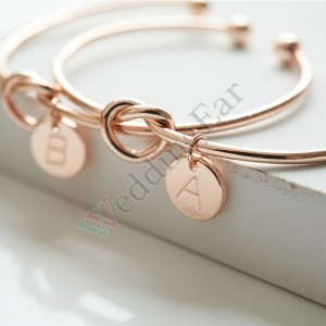Bridesmaid Bracelet Personalized Gift