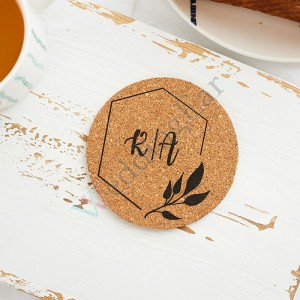 Customized Wedding Favor Corkn Engraved Set of 5