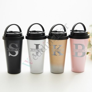 Engraved Stainless Steel Tumbler Bridesmaid/Groomsman Gift