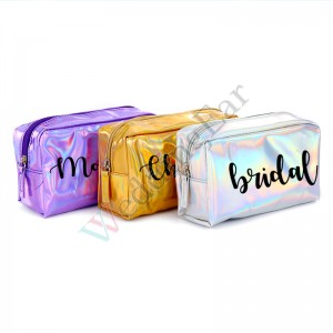 Personalized PU Showerproof Cosmetic Bag