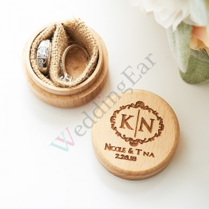 Personalized Wedding Ring Box